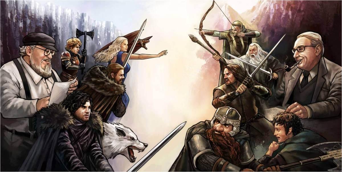 O Senhor dos Anéis ou Game of Thrones, qual é o melhor?