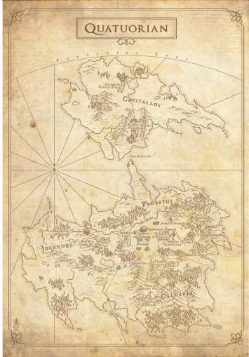 Mapa de Quatuorian